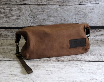 Dopp kit for men, Travel kit, Toiletry Bag, Gifts for Men, Groomsmen, Fathers Day Gift, Graduation Gift