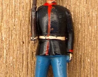American infantry soldier brooch . 30s .