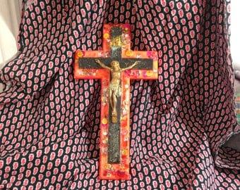 Crucifix Orange
