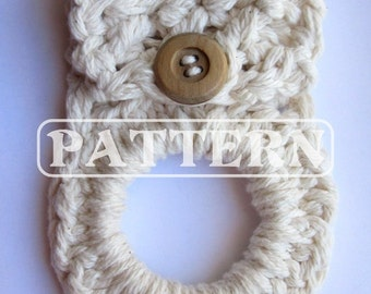 Crochet Pattern, Crocheted Towel Holder, TIPS and Secrets! Bestseller Item! Download this PDF File! Kitchen and Household Accessories, Gifts