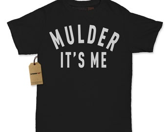Women's Mulder It's Me Shirt Printed X Files T-shirt #1326 By Expression Tees Trending Clothing / Apparel Usa Seller