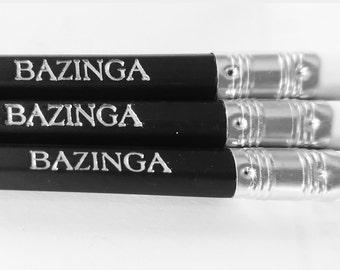 The Big Bang Theory pencil gift set  Nerd Gift/Birthday present