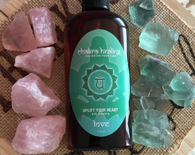 Heart Chakra Aura Spray Charged w/ Reiki Perfect for Mother's Day Gift