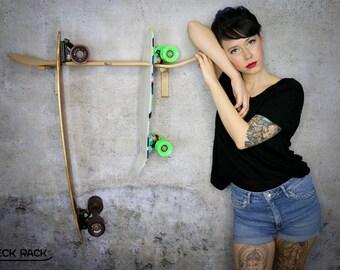 "Skateboard- and longboard rack ""Kimo"""