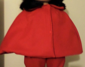 Furry Girl  18in Doll 3pc Outfit (Americn Girl Madame Alexander ect)