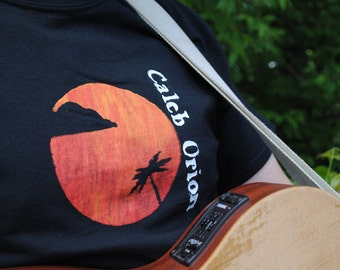 Caleb Orion 'el palcio del sol' Screen Printed T-Shirt