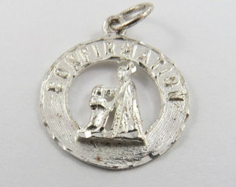 Confirmation Sterling Silver Charm or Pendant.