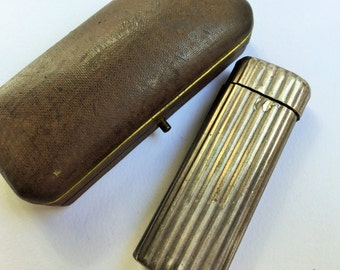 Cartier lighter solid silver, vintage accessories, vintage jewels, dandy accessories-Cartier Lighter sterling silver
