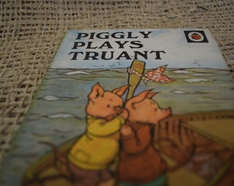 Piggly Plays Truant. A Vintage Ladybird Book. Series 401. 1970