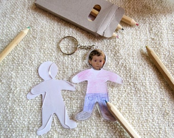 My First Key-Ring, DIY and Christmas gift for kid