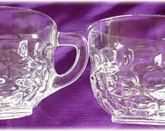 Federal Glass Yorktown Punch Glass or Snack Cup