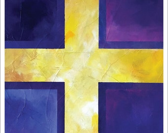 "Painting – 18""x24"" – MEDITATION 2"