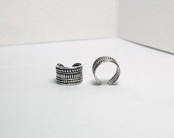 Roman pillar Ear Cuffs , classical order ear cuffs , Sterling silver ear cuffs , vintage earcuff, boho jewelry ear cuffs