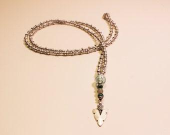 Silver Arrow Head Necklace