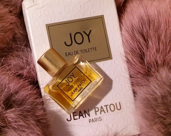 Vintage 90's Collectible Joy By Jean Patou Eau De Toilette 2 mL Made In France Pre-Reformulation Formula Mini Splash Flacon Perfume