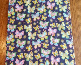 Butterfly Baby Cloth Diaper Burp Cloth