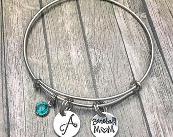 Baseball mom jewelry - Baseball mom - Baseball jewelry - Baseball bracelet - Baseball - Sports mom jewelry - Baseball mom gift