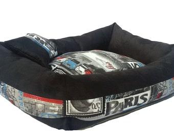 Dog Bed Black Parise