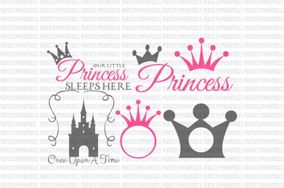 Svg Princess Crown Tiara Disney Princess By