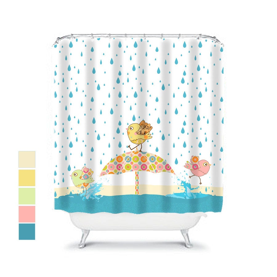 Fun shower curtains for kids the image for Children s bathroom designs