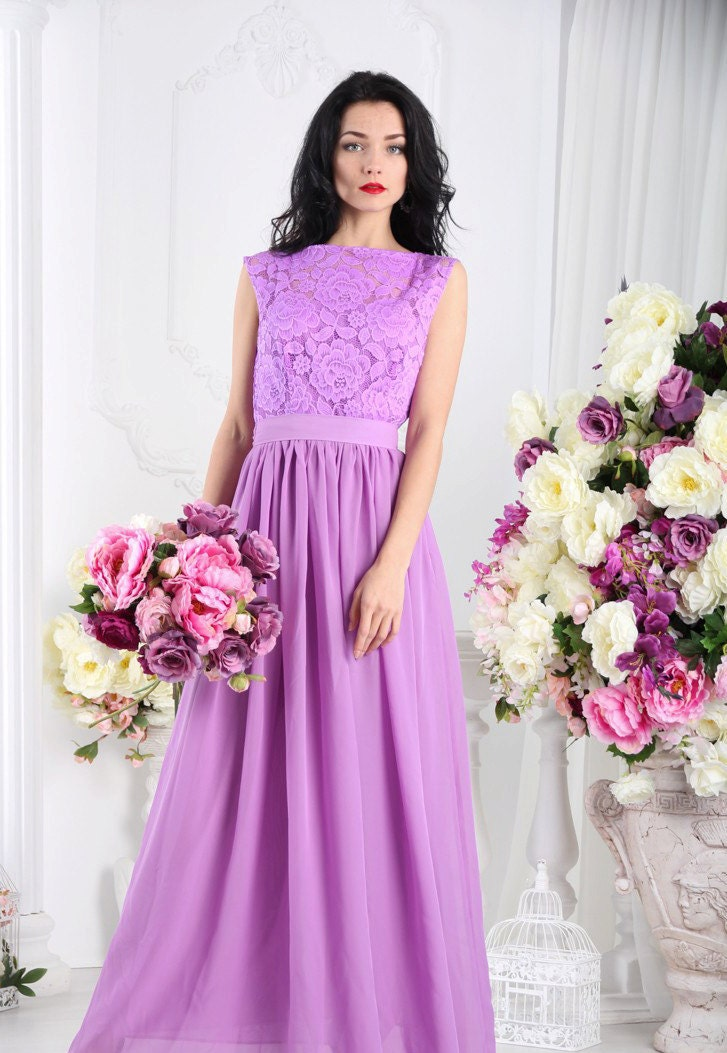 Luxury wedding dress trends: Bridesmaid dresses available in lilac ...