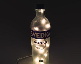 Svedka Bottle Lamp / Gifts for Men / Gift Ideas