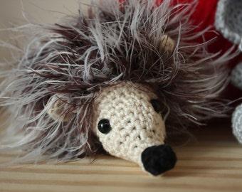 Amigurumi Hedgehog - Crochet Hedgehog - Toy Hedgehog - Fluffy Hedgehog  - Made to Order