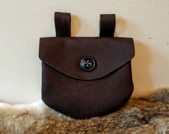 Simple Traveler's Belt Pouch