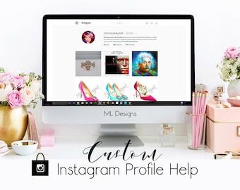 Instagram Critique Custom Design Profile Image Help