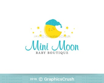 Baby Logo Design Boutique Children Logo Kids Logo