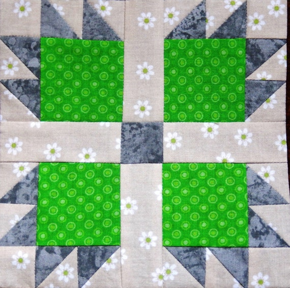 Easy Pieced Bears Paw Pdf Quilt Block Pattern By Mspdesignsusa