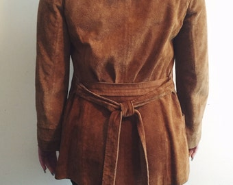 Vintage Fawn Suede Jacket