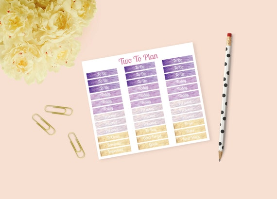 Customizable French Provence Weekly Kit Headers ...