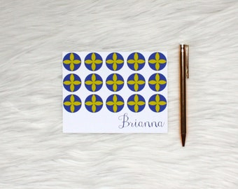 Personalized Stationery, Patterned Stationery