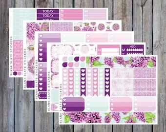Planner Sticker Kit - Purple Lilac [235]