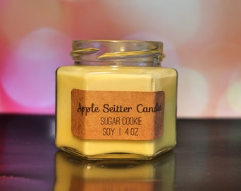 All Natural Sugar Cookie Soy Candle
