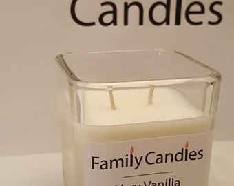 Family Candles - Very Vanilla 7.5 oz Double Wicked Soy Candle