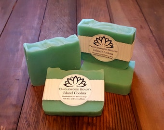 Island Coolata- Handmade Soap with Shea and Cocoa Butter