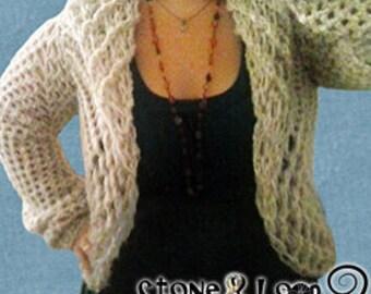 Crocheted Sweater Shrug