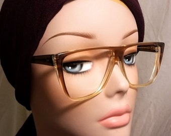 Vintage Eyeglasses, Brown Ombre
