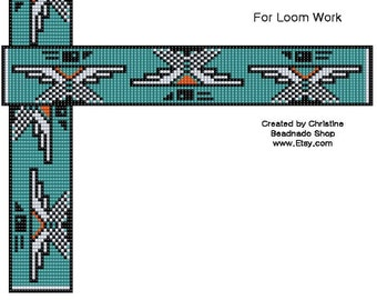 T Bird Bead Loom Pattern