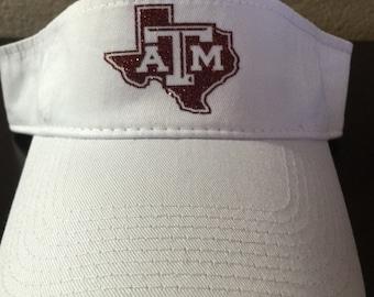 Texas A&M Visor