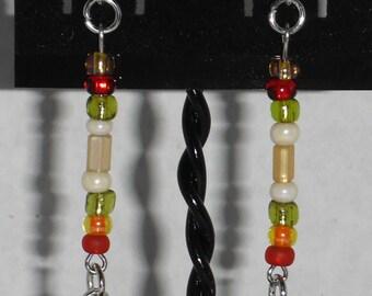 Autumn Pumkin Earrings