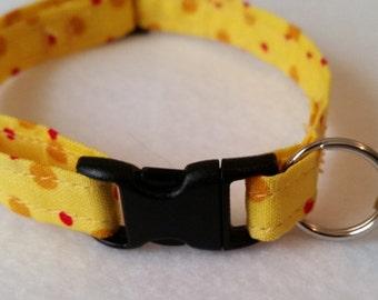 Polka Dot Cat Collar