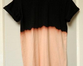 Tie Dye T-Shirt acid wash T-shirt hipster festival grunge Retro 90s indie dip dye unisex rave skate top