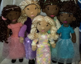 Custom Amigurumi Dolls