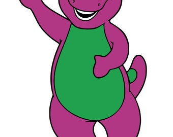 Barney and Friends - svg files
