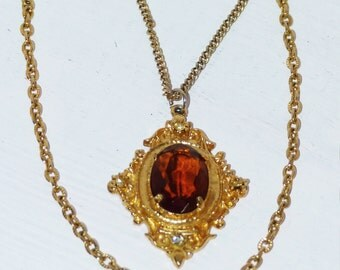 """Necklace with Double Chain 24"""""""