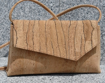 All Cork purse/clutch/handbag/crossbody bag
