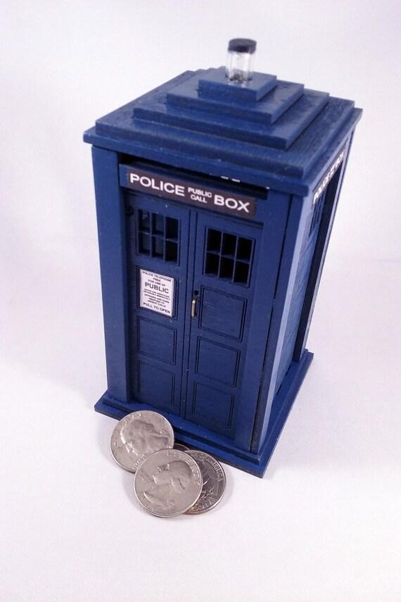 Tardis coin bank - Tardis piggy bank ...